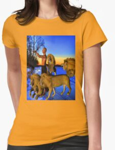 Call of the Wild Womens Fitted T-Shirt