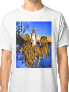 Lions in Winter Classic T-Shirt