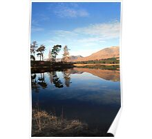 Loch Tulla  Reflection Poster