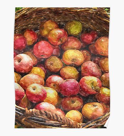 Apple Basket 1 Poster