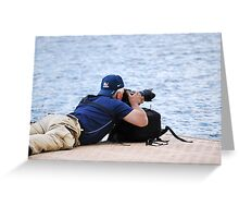When Laying Down On The Job Is Okay Greeting Card