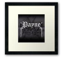Payne - [ the Black Dagger Brotherhood ] Framed Print