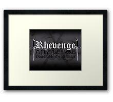 Rhevenge - [ the Black Dagger Brotherhood ] Framed Print
