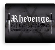 Rhevenge - [ the Black Dagger Brotherhood ] Canvas Print