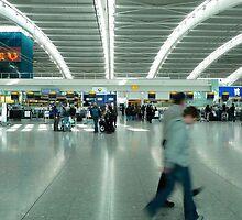 I Love You - Heathrow Terminal 5 by Nick Bland