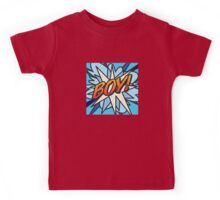 Comic Book BOY! Kids Tee