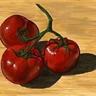 mouth-watering tomatoes by bernzweig
