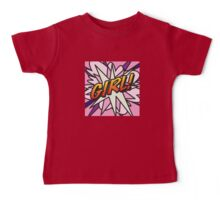 Comic Book GIRL! Baby Tee