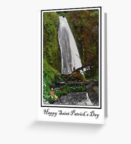 Card: Happy Saint Patricks Day Greeting Card