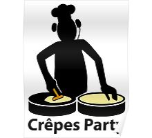 Crepes party Poster