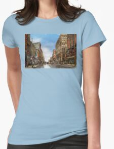 City - Kansas City MO - Commerce from the past 1906 Womens Fitted T-Shirt