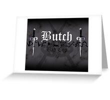 Butch - [ the Black Dagger Brotherhood ] Greeting Card