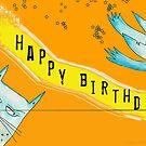 Birthday card by Mavri  Gata