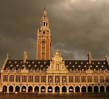 Leuven - The new Library by theBFG