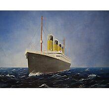 RMS Titanic  Photographic Print