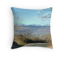 The Other End Of The Lane Throw Pillow