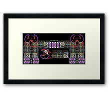 Mine Logos Gate Framed Print