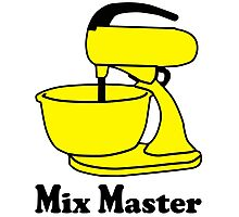 Mix master Photographic Print