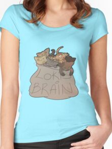 Loki's Brain Women's Fitted Scoop T-Shirt