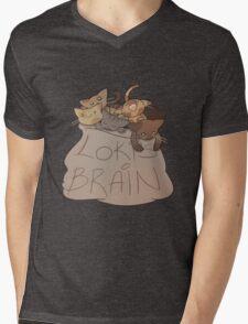 Loki's Brain Mens V-Neck T-Shirt