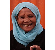 Faces of India 2 Photographic Print