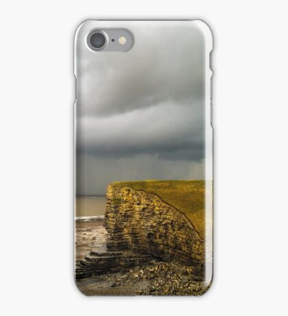 Storm over the Bristol Channel iPhone Case/Skin