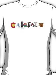Colorado Illustrations T-Shirt