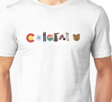 Colorado Illustrations Unisex T-Shirt
