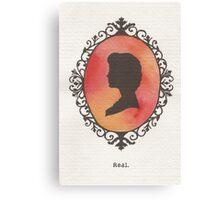 Katniss Cameo Canvas Print