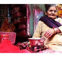 Faces of India 3 Photographic Print