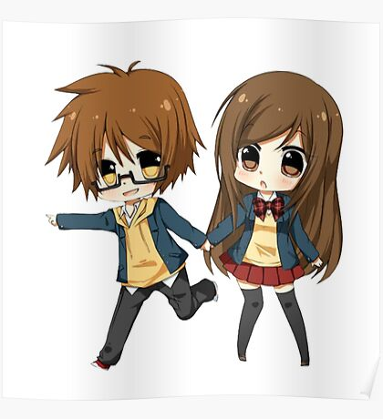 Couple cute Poster