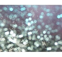 Rain Through the Windshield Photographic Print