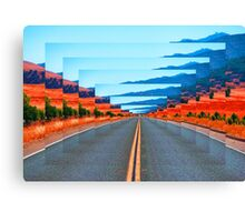 INFINITY ROAD Canvas Print