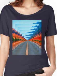 INFINITY ROAD Women's Relaxed Fit T-Shirt