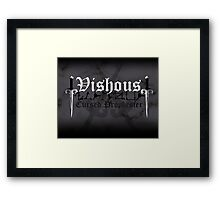 Vishous - [ the Black Dagger Brotherhood ] Framed Print