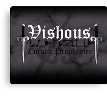 Vishous - [ the Black Dagger Brotherhood ] Canvas Print