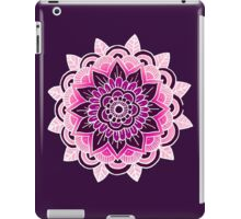 Mandala: Pink/Purple iPad Case/Skin