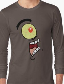 Shock, Horror, Plankton Long Sleeve T-Shirt
