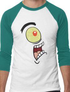 Shock, Horror, Plankton Men's Baseball ¾ T-Shirt