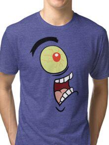 Shock, Horror, Plankton Tri-blend T-Shirt