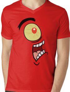 Shock, Horror, Plankton Mens V-Neck T-Shirt