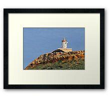 Ta' Ġurdan Lighthouse Framed Print