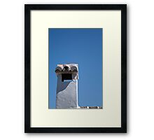 Spanish chimney, Casares Framed Print