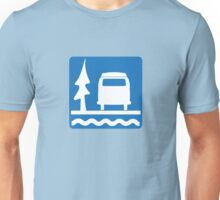 VW Bay Window Bus Camping Unisex T-Shirt