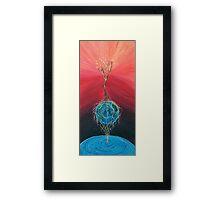 The Center Framed Print