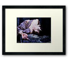 the last vampire Framed Print
