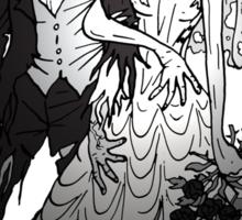 Zombie Wedding Sticker