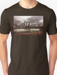 City - Pittsburg, PA - Smithfield Bridge  Unisex T-Shirt