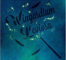 Wingardium Leviosa - Harry Potter by believeluna