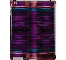 Purple abstract sm iPad Case/Skin